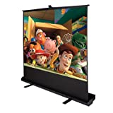 Goplus 100' Inch 4:3 Portable Pull up Floor Projector Projection Screen W/aluminium Case