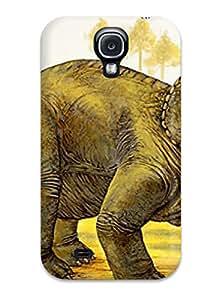 FsJXzTb4663zPTUP Anti-scratch Case Cover ZippyDoritEduard Protective Dinosaur Case For Galaxy S4