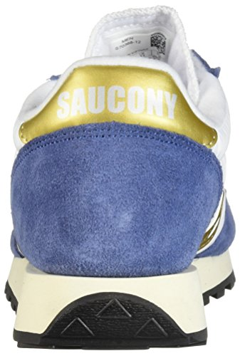 Jazz Sneaker navy Adulto white Bianco Vintage Saucony 12 Unisex Original – HxpdnFPFw