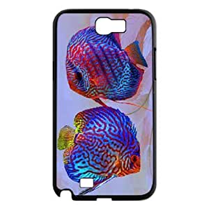 Colorful fish ZLB607299 Custom Phone Case for Samsung Galaxy Note 2 N7100, Samsung Galaxy Note 2 N7100 Case