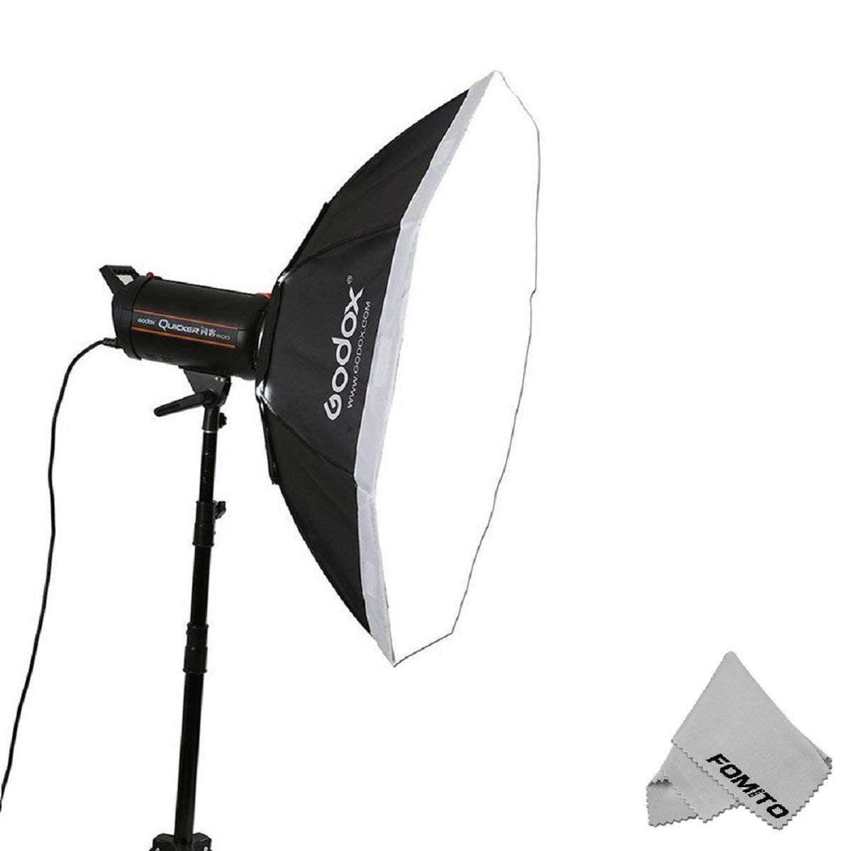 Fomito Godox Top Octagon Softbox 95cm/37inch Octagon Softbox Photography Light Diffuser and Modifier with Bowens Speedring Mount for Monolight Photo Studio Strobe Lighting