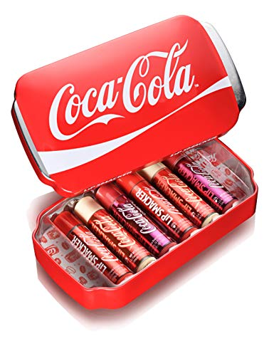 Lip Smacker Coca Cola Lip Balm 6 Pack Can Gift Set