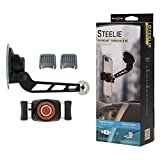 Nite Ize Original Steelie Freemount Windshield Kit - Adjustable Magnetic Bracket + Car Windshield Mount for Smartphones