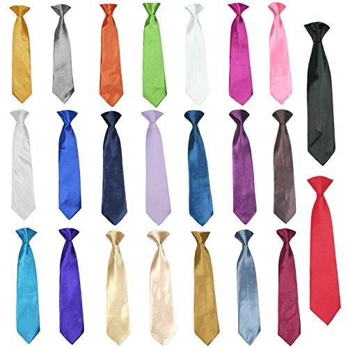 Lilac Cummerbund (Classic Fashion Baby Boy Suit Party Formal Wedding Colors Satin Clip on Necktie (M:(5-7), Lilac Lavender))