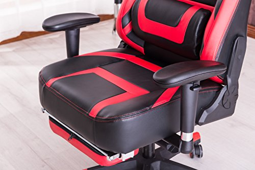 Killabee 8212 Zfh Red Black Gaming Chairs