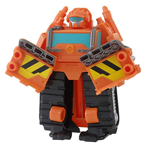 Playskool Heroes Transformers Rescue Bots Academy Wedge the Construction-Bot ()