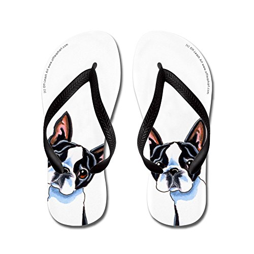 aaef9a7605efe 60%OFF CafePress - Boston Terrier Its All About Me - Flip Flops ...