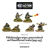 1943-45 Sniper & Flamethrower Team Miniatures