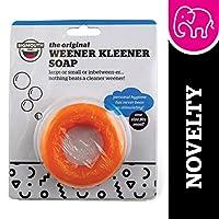 BigMouth Inc jabón genérico Weener Kleener, producto de jabón circular, regalo divertido de mordaza