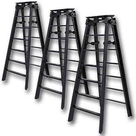 7.6x15.2cm Negro Plegable Escalera - Figura De Lucha Accesorios (para WWE/TNA Figuras De Acción): Amazon.es: Juguetes y juegos