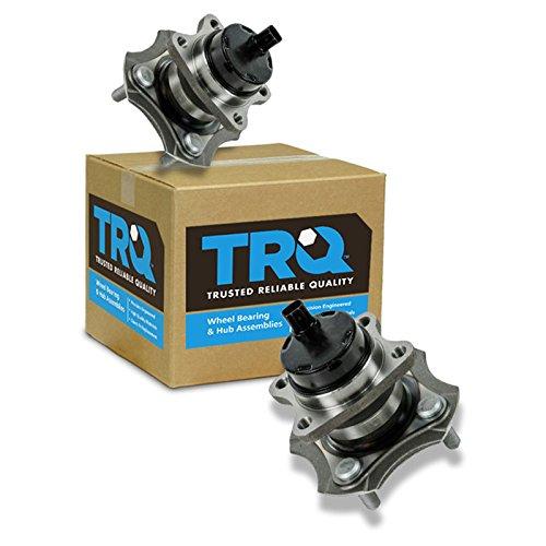 TRQ Rear Wheel Hub & Bearing Assembly Pair Set for 00-06 Scion Toyota xA xB Echo