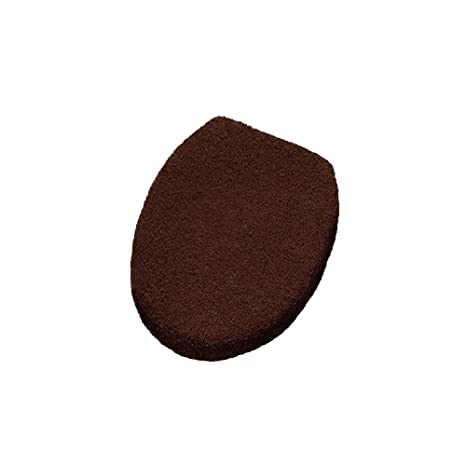 Sensational Kleine Wolke Elongated Lid Rug Cover With A Draw String Fit Lids 17 To 18 5 In Long Toilet Seat Cover W 18 5In X L 19 7In Nut Brown Cjindustries Chair Design For Home Cjindustriesco