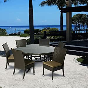 Alfresco Home Vento 60 inch Round Dining Table