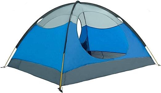 GEERTOP Tienda iglú de Campaña Impermeable Ligera 3 Personas 3 Estaciones - 180 x 210 x 120 cm (2,5kg) - UV Resistente para Acampar Excursionismo y Turismo (Azul): Amazon.es: Deportes y aire libre