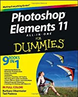 Photoshop Elements 11 All-in-One For Dummies Front Cover