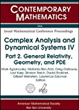 Complex Analysis and Dynamical Systems IV, , 0821851977