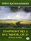 Symphony No. 2 In E Minor, Op. 27, in Full Score (Dover Music Scores)