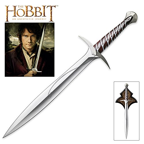 United Cutlery The Hobbit Sting Sword of Bilbo Baggins (Hobbit Weapon Replicas)