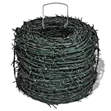 Garden Fences Barbed Wire Entanglement Wire Green