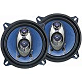 Pyle PL53BL 5.25-Inch 200 Watt 3-Way Speakers