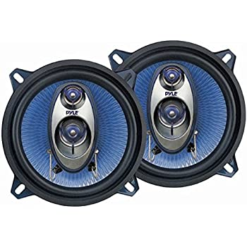 speakers car. pyle pl53bl 5.25-inch 200-watt three-way speakers (pair) car
