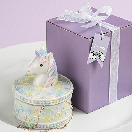 72 Delightful Unicorn Design Jewelry Gift Boxes by Fashioncraft