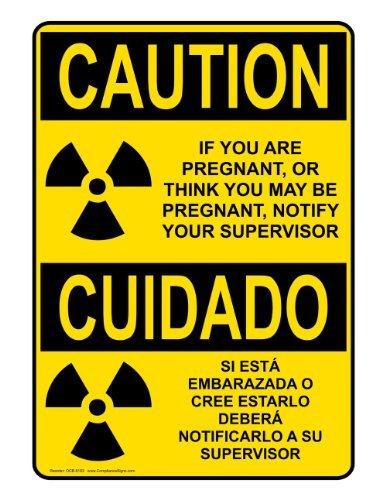 ymot101 OSHA - Pegatinas de Vinilo con Texto en inglés Caution, 10 ...