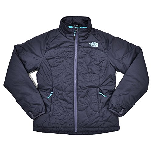 North Face Stone (The North Face Womens Catawissa Puffer Jacket (Grey Stone Blue, XS))