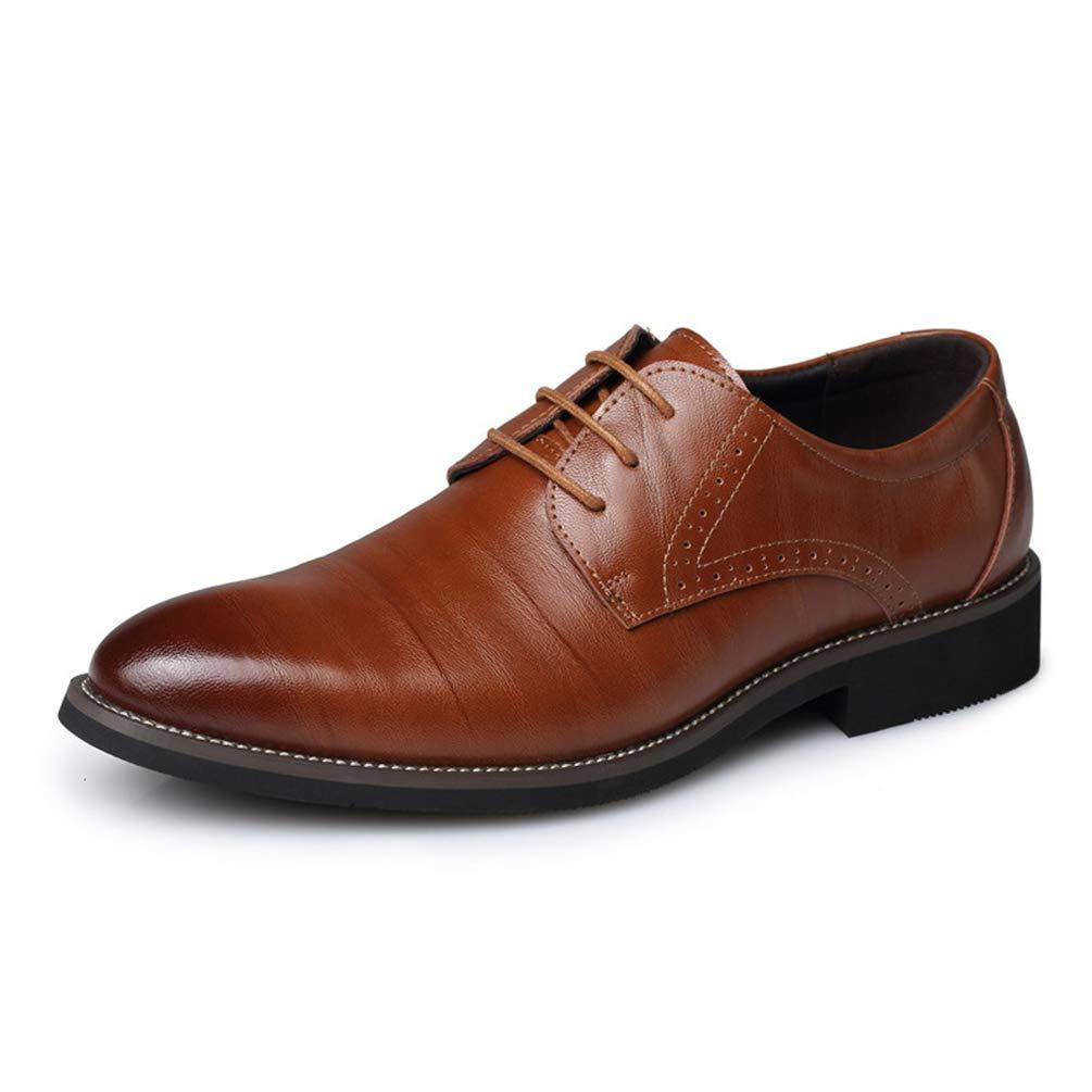 Hombres de Negocios Zapatos de Cuero Zapatos de Vestir de Moda Masculina Zapatos Puntiagudos Toe Trabajo