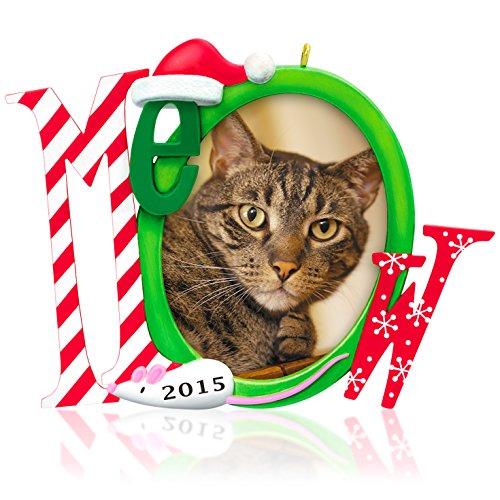 (Hallmark Keepsake Ornament: The Cat's Meow Photo Frame-Holder)