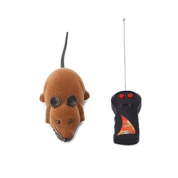 Lazder Ratones de Juguete con Mando a Distancia, Ratones eléctricos de Peluche para Gatos, Perros, Mascotas, niños: Amazon.es: Productos para mascotas