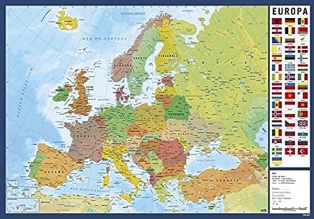 Grupo Erik Editores Vade Escolar Mapa Europa: Amazon.es: Oficina y papelería