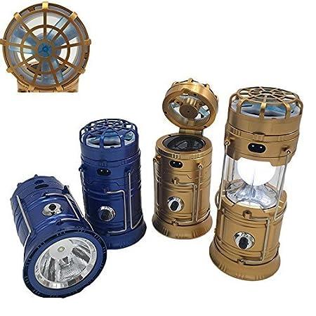Arura Multifunctional LED Solar Emergency Light Bulb Mini Fan Camping Lamp