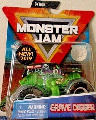 MJ 2019 Spin Master Grave Digger Monster Jam Diecast 1:64 Scale