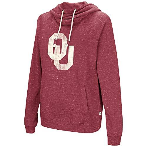 Colosseum Oklahoma Sooners Womens I'll Go with You Hooded Sweatshirt-Small ()