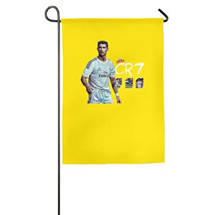Amazon.com: Cristiano Ronaldo CR7 Real Madrid UEFA Bandera ...