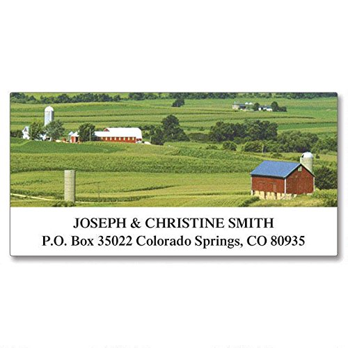 Four Seasons Self-Adhesive, Flat-Sheet Deluxe Address Labels (24 Designs)