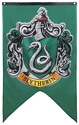 Yi Amoy Harry Potter Hogwarts Wall Banner (Light Green) (Flags & Amp ; Banners)