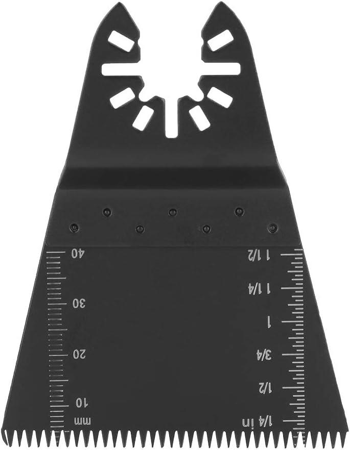 Hoja de sierra oscilante 5 hojas de sierra oscilante multiherramienta de acero con alto contenido de carbono de 65 mm para madera y pl/ástico.