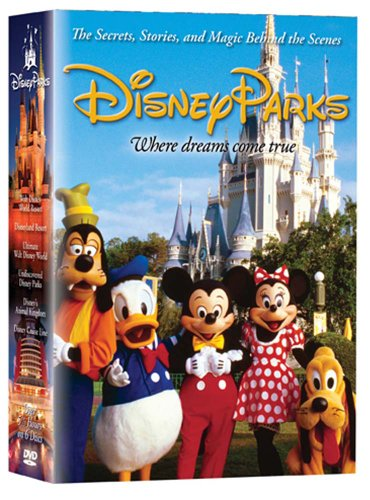 DVD : Disney Parks: The Secrets, Stories and Magic Behind the Scenes (Walt Disney World Resort: Behind the Scenes / Disneyland Resort: Behind the Scenes / Ultimate Walt Disney World / Disney s Animal Kingdom / Disney Cruise Line / Undiscovered Disney Parks)