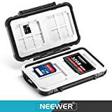 Neewer 14 Slots Memory Card Case Holder, Durable