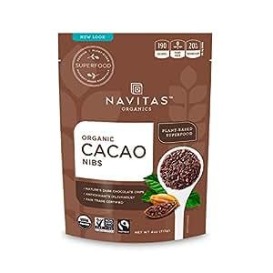 Navitas Organics Cacao Nibs, 4 oz. Bag