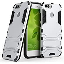 Huawei Nova 2 Case, Huawei Nova 2 Hybrid Case, Dual Layer Shockproof Hybrid Rugged Case Hard Shell Cover with Kickstand for 5.0'' Huawei Nova 2 [NOT fit 5.5'' Huawei Nova 2 Plus or 5.0'' Huawei Nova]