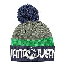 Vancouver Canucks Cuffed Pom Knit Toque