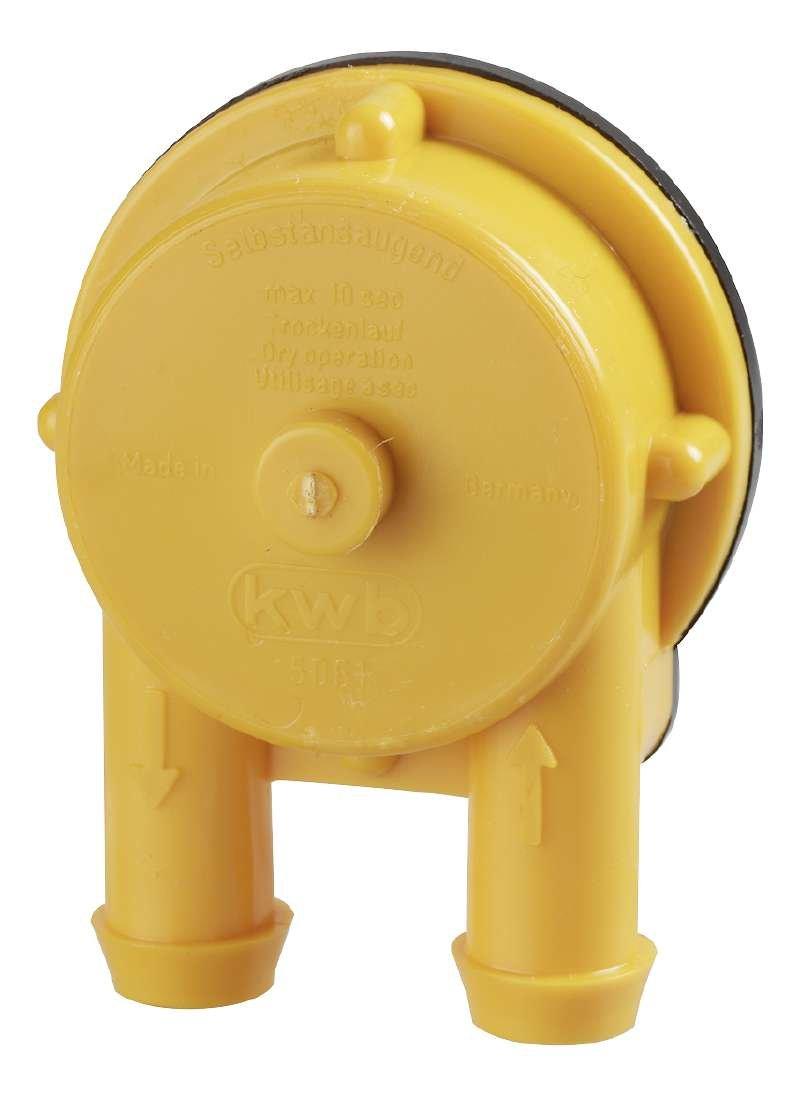 Kwb 49506100 - Auto-cebado/taladro accionado la bomba ideal para el llenado/vaciado colillas de agua