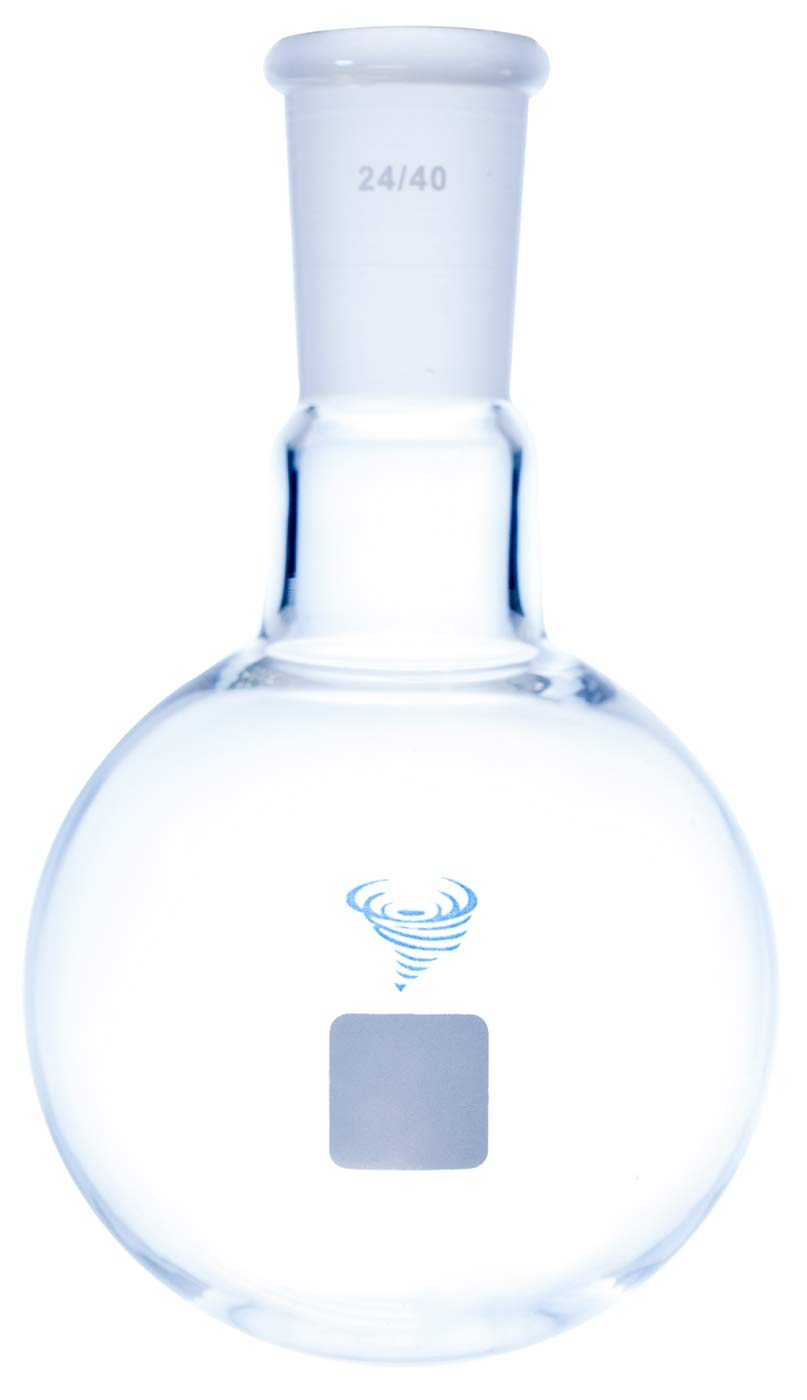 Best Value Vacs Single Neck Round Bottom Flask- 100ml by BEST VALUE VACS (Image #1)