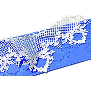 Triumphal Silicone Lace Mat by Crystal Candy