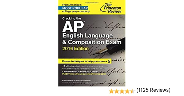 Amazon.com: Cracking the AP English Language & Composition Exam ...