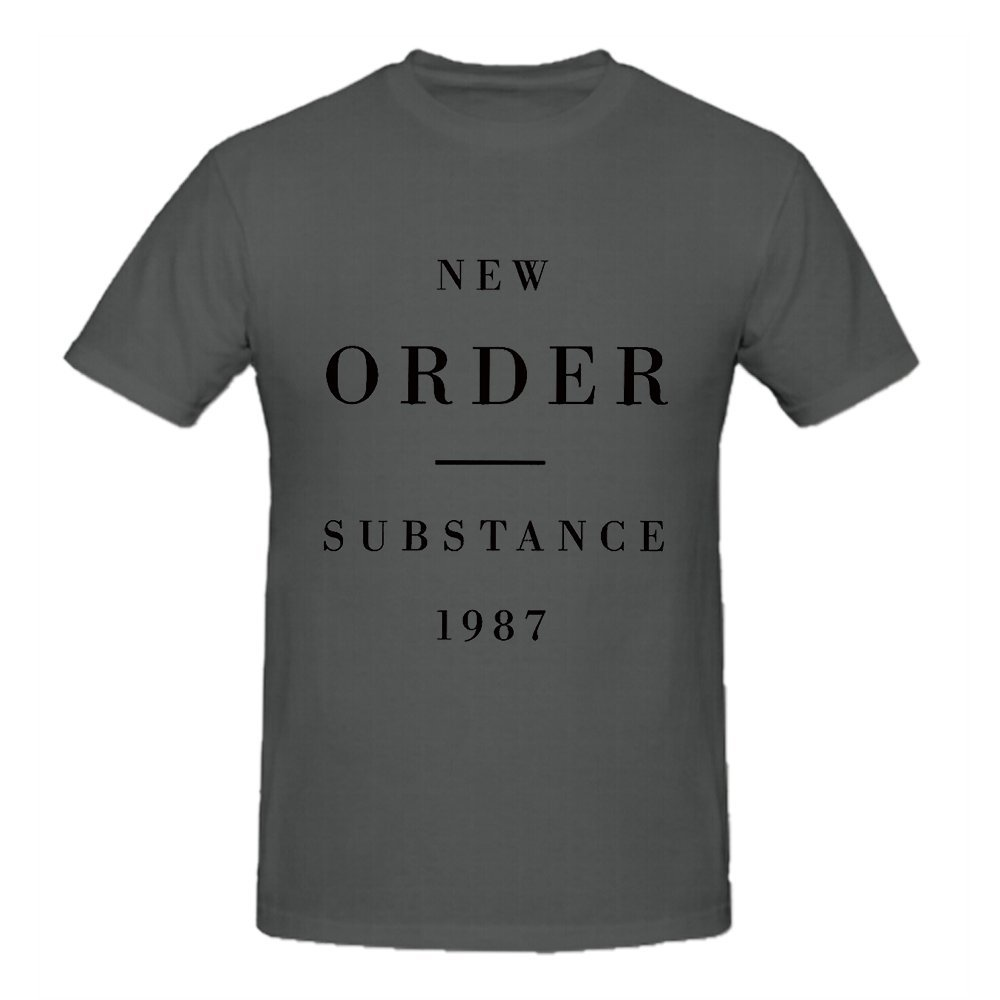 New Order Substance 1987 Short Round T Shirt