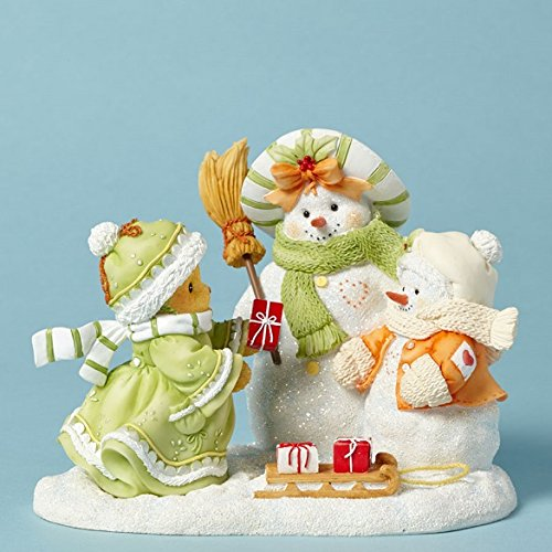 - Cherished Teddies Aria Flurry Friends Forever Bear and Snow Friends Figurine